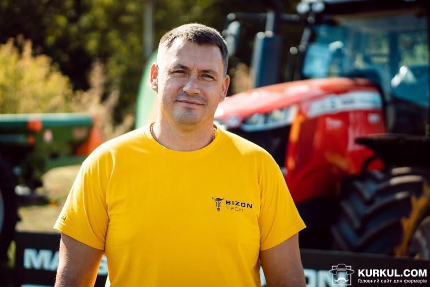 Володимир Кокоть, керівник Криворізького регіонального структурного підрозділу «Бізон-Тех»