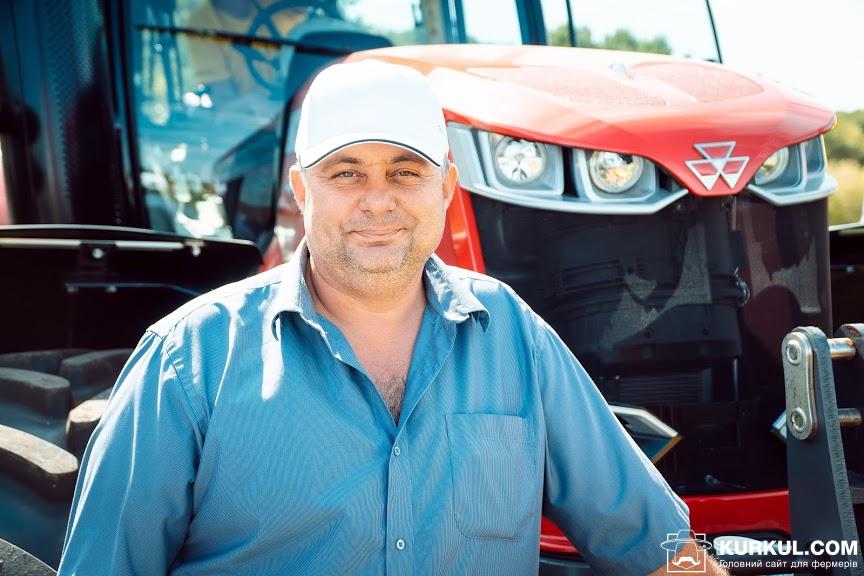 Володимир Головченко, співзасновник фермерського господарства «Бородавки»