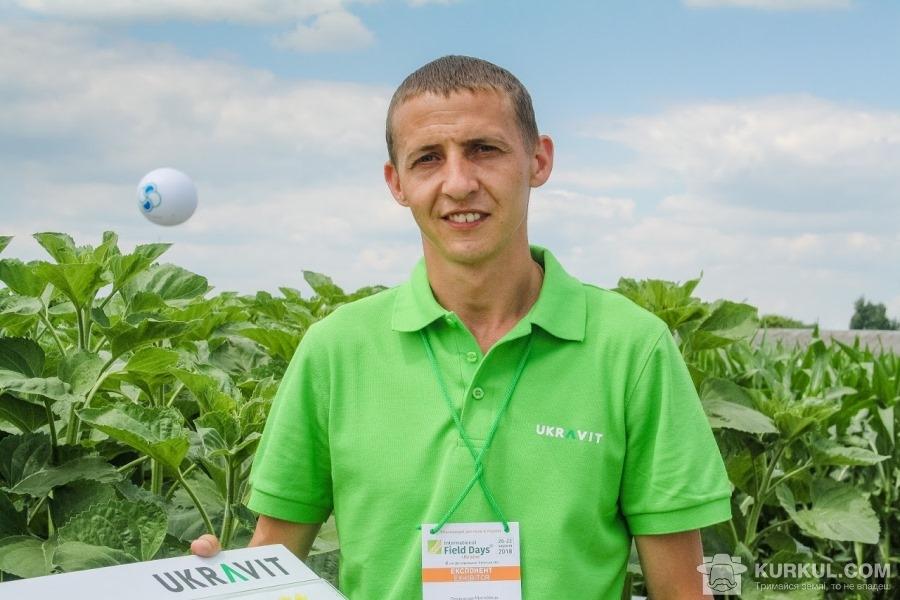 Олександр Мигловець, керівник відділу розвитку продуктів і сервісів ЗЗР ГК UKRAVIT