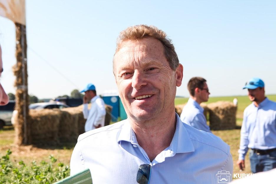 Жан-Поль Прюдом, координатор відділу агрономії компанії Суффле Агро Україна