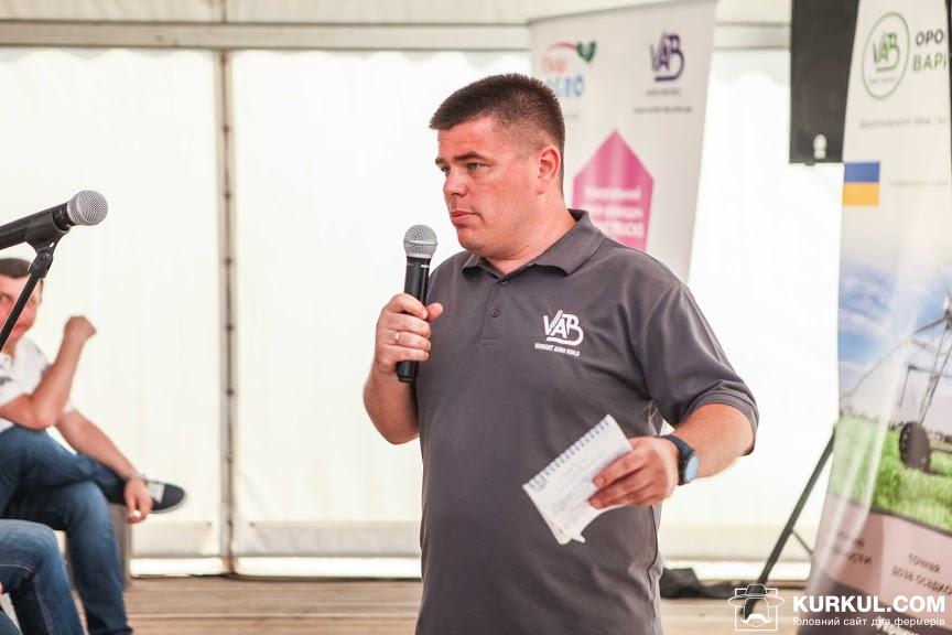 Олександр Юзьков, керівник напряму VIP клієнтів «Варіант Агро Буд»