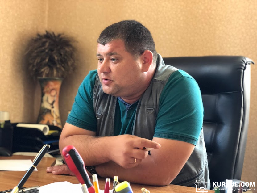 Олександр Кроліцький директор філії «Хмільник» компанії «НІБУЛОН»