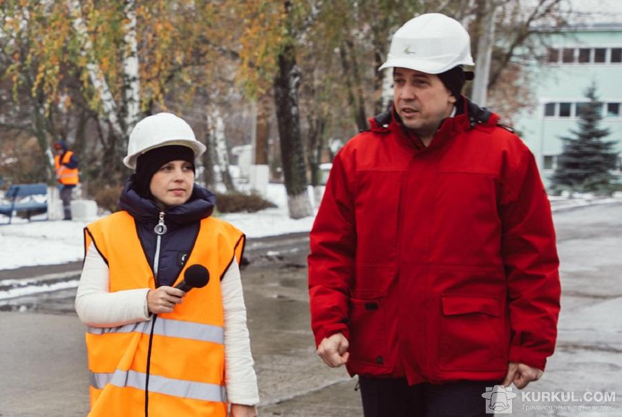 Артур Футима з журналісткою