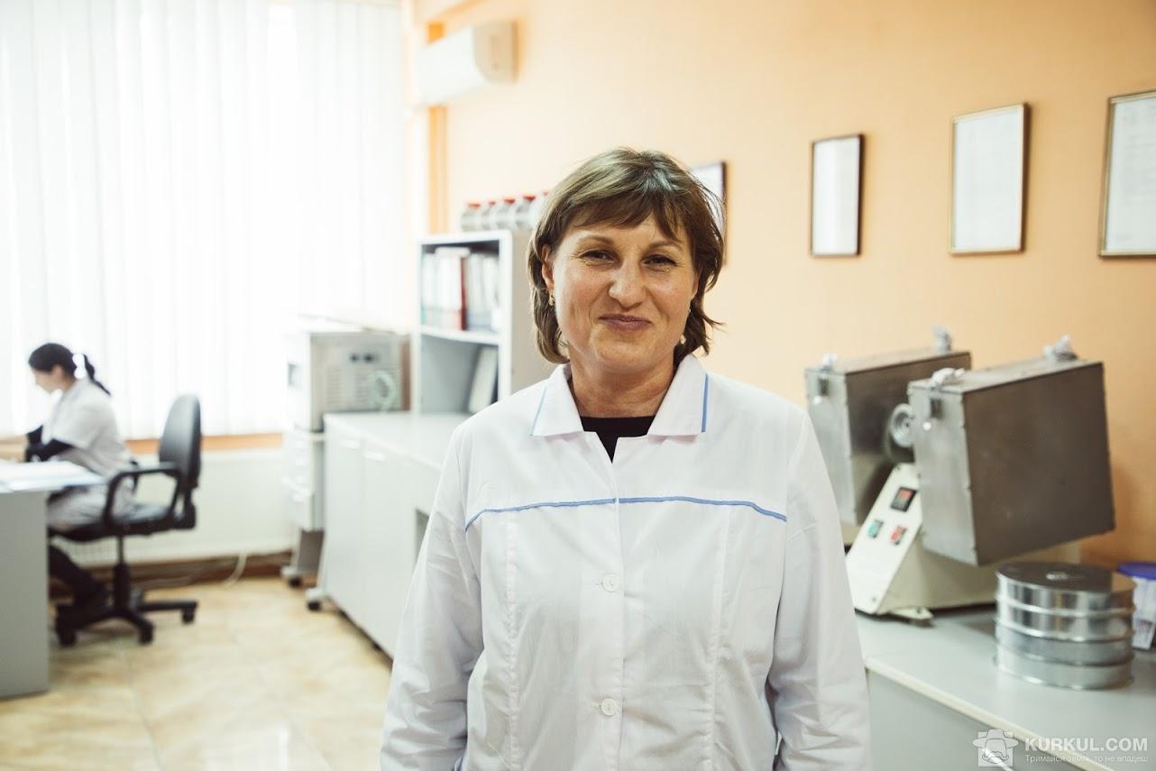 Алла Гостєва, заступник начальника лабораторії