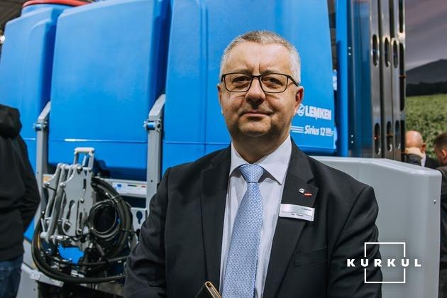 Ян Возік, менеджер з експорту компанії LEMKEN