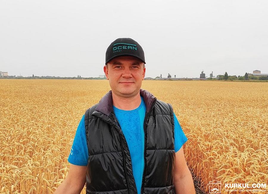 Олександр Горобець, консультант та агроном-технолог компанії «Океан Інвест» у Сумській, Харківській та Донецькій областях»