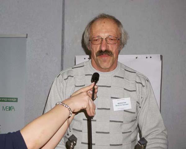 Валентин Ференчук, голова Ширяївського громадського об'єднання бджолярів, почесний пасічник України