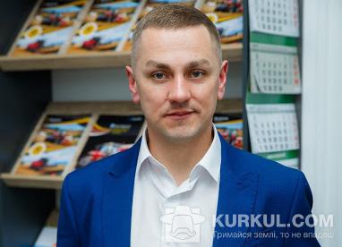 Роман Столяренко, заступник керівника департаменту сільгосптехніки «Бізон-Тех» у Полтавській області
