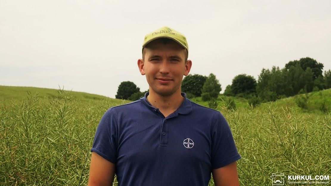 Тарас Буйволюк, головний агроном «Волинь-Зерно-Продукт»