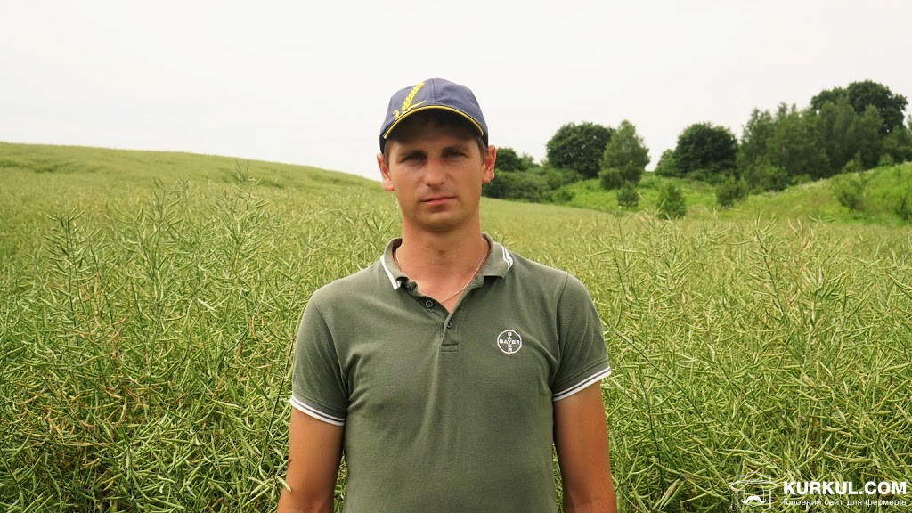 Богдан Ковальчук, заступник керівника агродепартаменту  «Волинь-Зерно-Продукт»