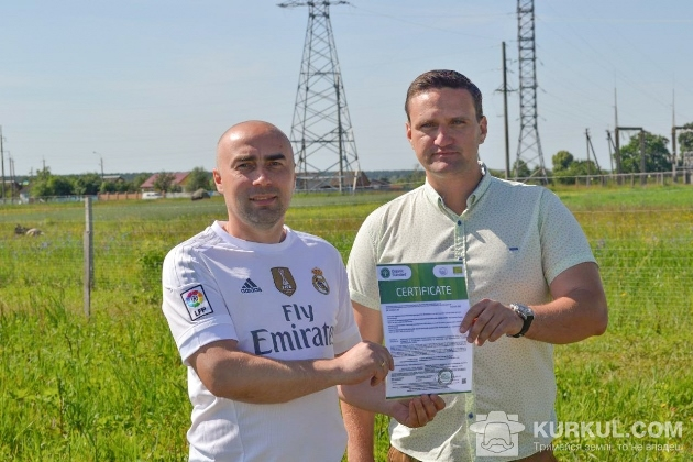 Засновники кооперативу Олег Шубрат (зліва) і Дмитро Зубаха