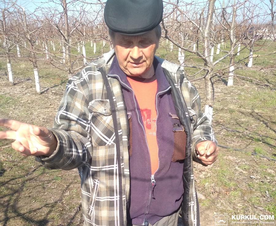 Олександр Маценко, голова асоціації інтенсивного садівництва Черкаської області
