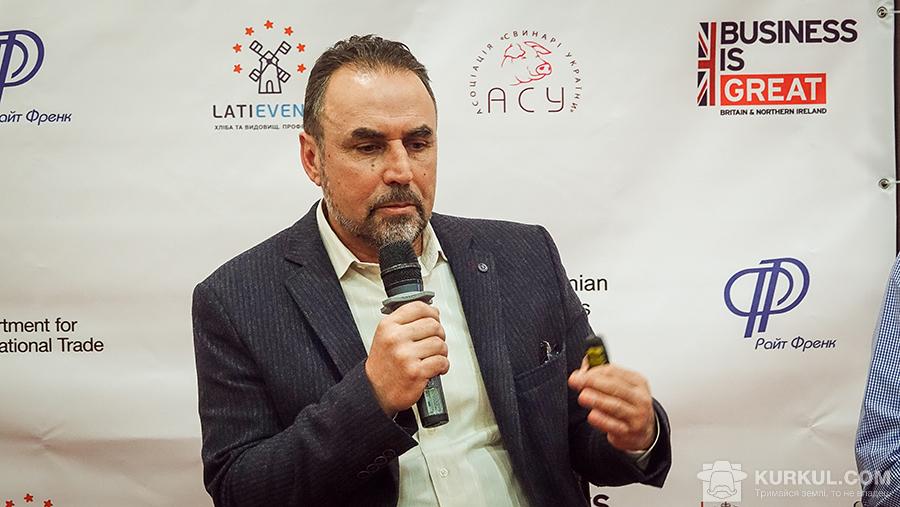 Артур Лоза, незалежний консультант у галузі свинарства