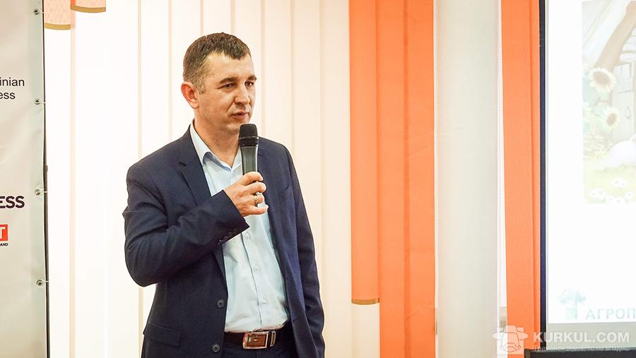 Роман Березовський, заступник директора з розвитку сільського господарства ПАП Агропродсервіс