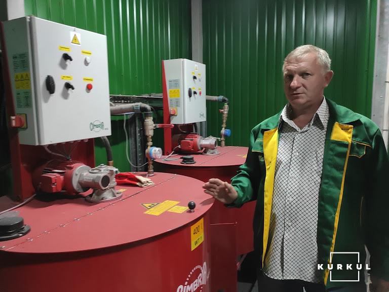 Віктор Вільчанський, завідувач насіннєвого заводу групи компаній VITAGRO, «Аграрна компанія 2004»