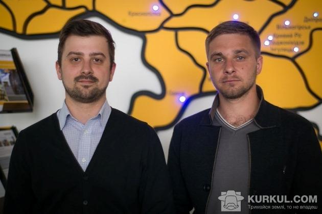 Андрій Король і Артем Двораківський (справа)