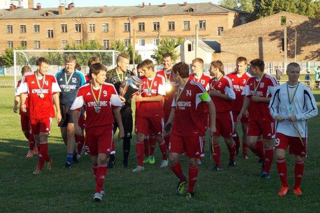 Гравці Агробізнес ТСК після перемоги в фіналі обласного кубку