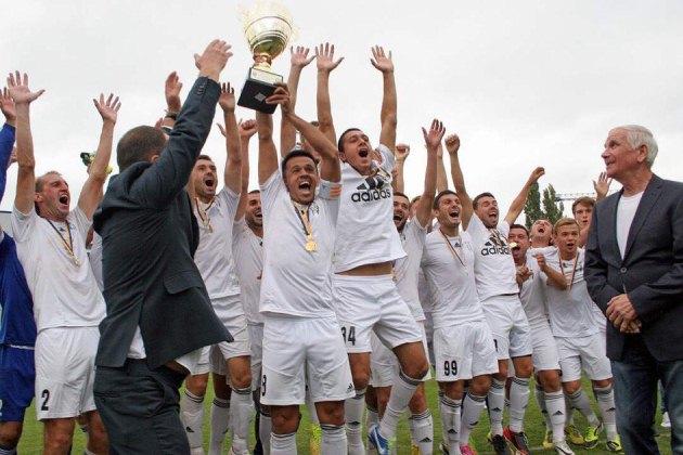 ФК Балкани - чемпіон України серед аматорів в 2015 році