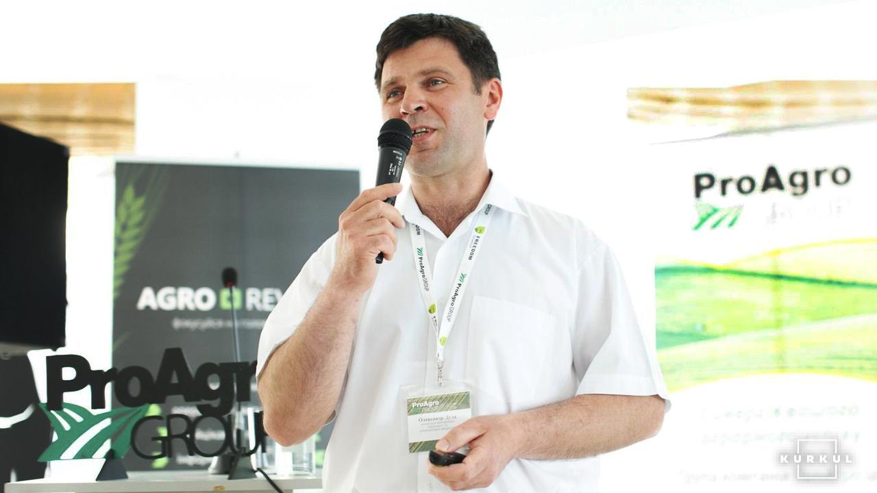 Олександр Дуда, голова ГО «Асоціація виробників амаранту та амарантової продукції»