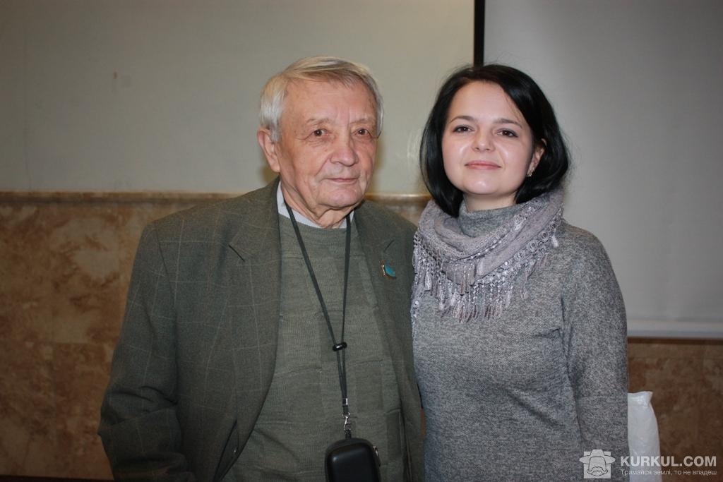 Микола Осташевський та Леонора Адамчук