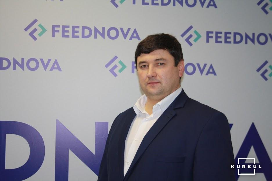 Андрій Огороднік, директор заводу Feednova