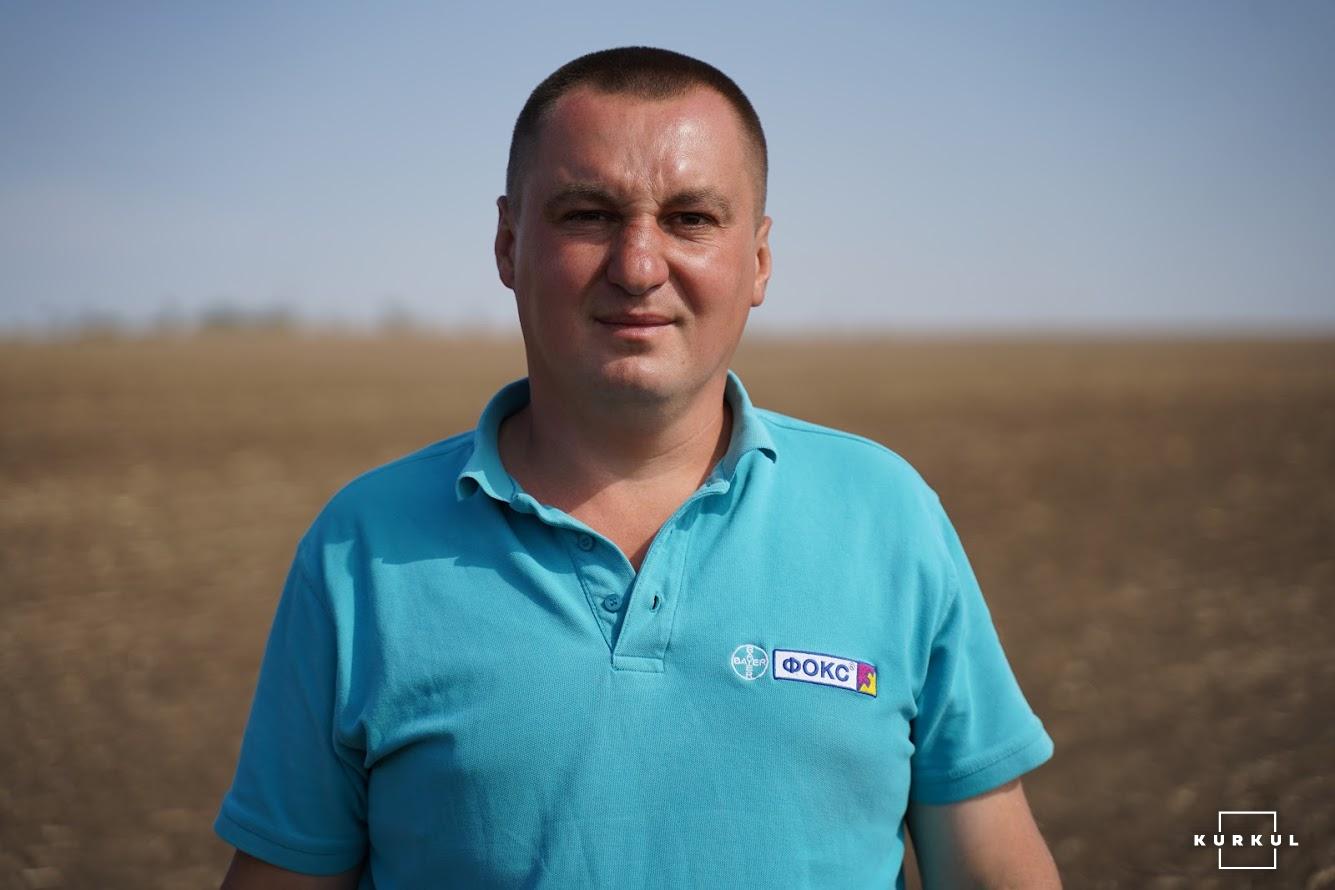 Віталій Кірієнко, головний агроном ПП СП «Гуляйпільське»