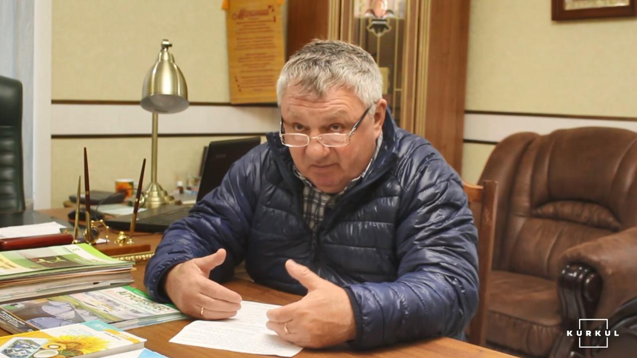Олег Ніцевич, керівник агропідприємства «Єдність»