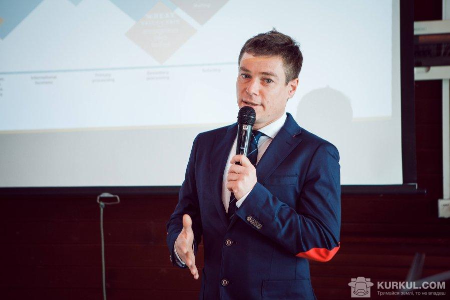 Олів'є Буйе, директор із розвитку торгівлі зерном «Суффле Агро Україна»