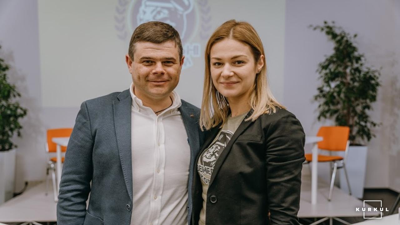 Володимир Нагорний та Ольга Іванько