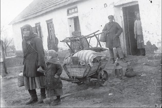 Репресована куркульська родина, Донеччина, 1930, hronika.info