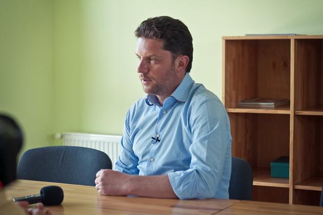 Дмитро Огньов, власник фермерського господарства Меринос-Захід