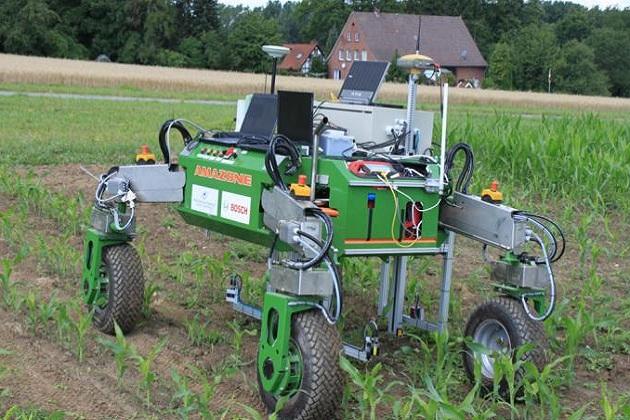 Безпілотний трактор