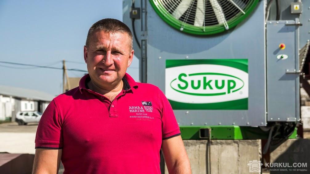 Валентин Королюк, виконавчий директор «Подільської зернової компанії»