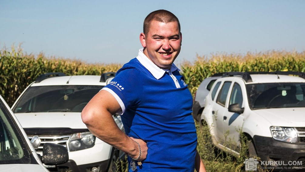 Віталій Ванчуляк, передставник компанії «Август-Україна»