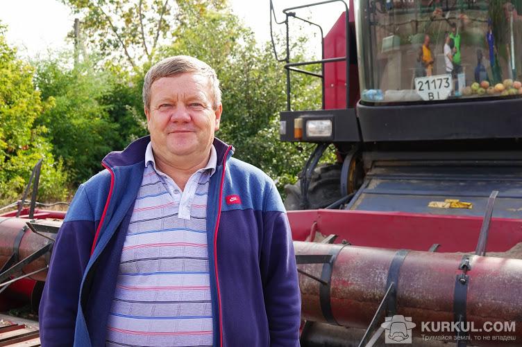 Сергій Ковтун, директор господарства «Обрій»
