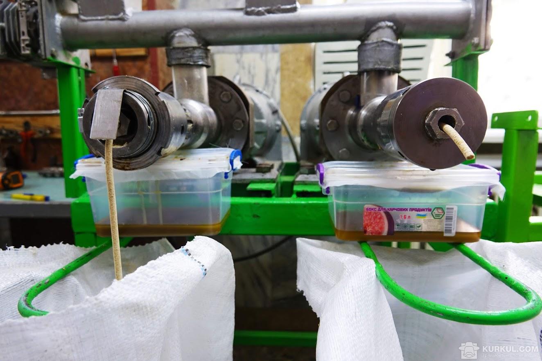 Добування олії з амаранту