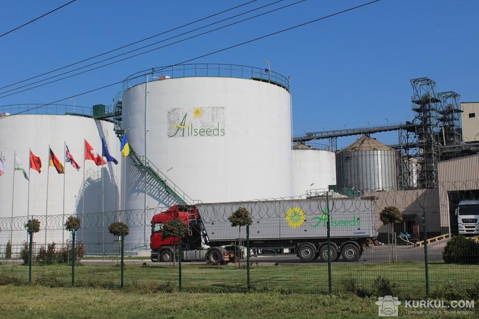 Резервуар для зберігання олії