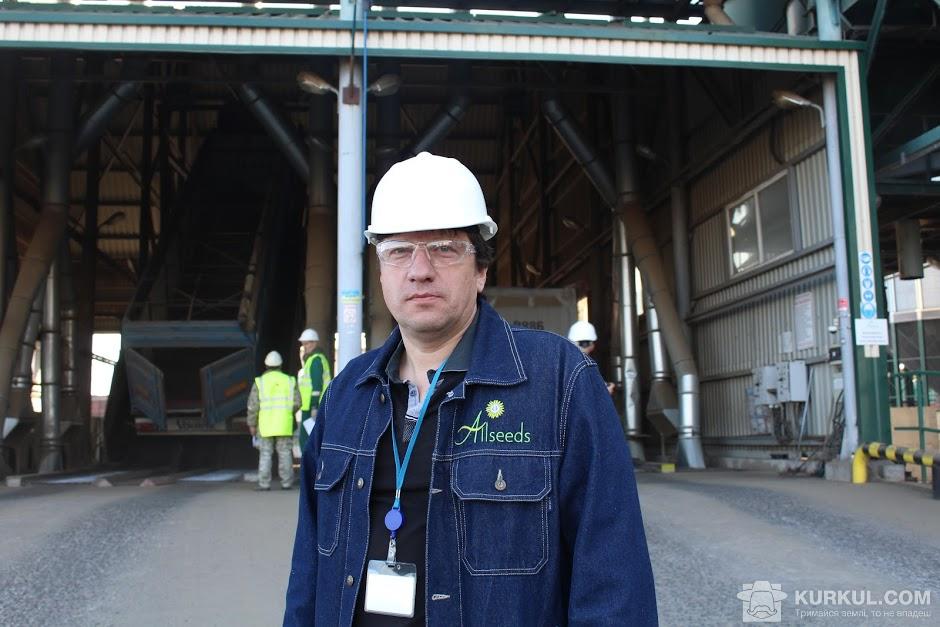Євген Климович, директор олієестракційного заводу Allseeds