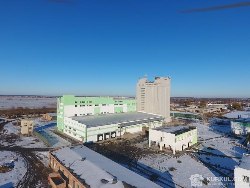 Завод з виробництва пластівців Agricom Group