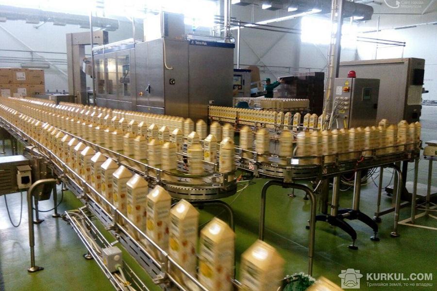 Завод виробництва соків