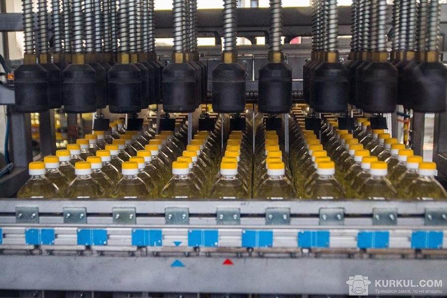 Виробництво соняшникової олії