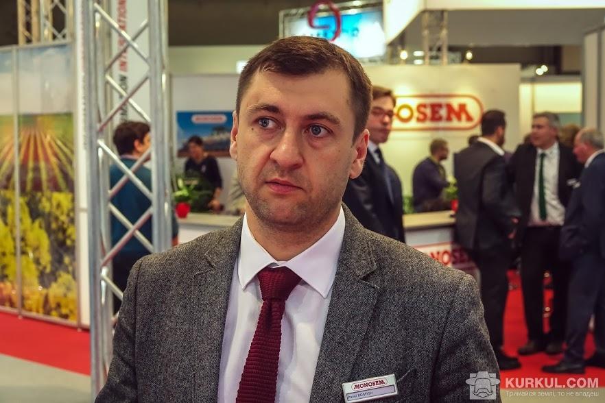 Представник компанії Monosem в країнах СНД Павло Ромиш