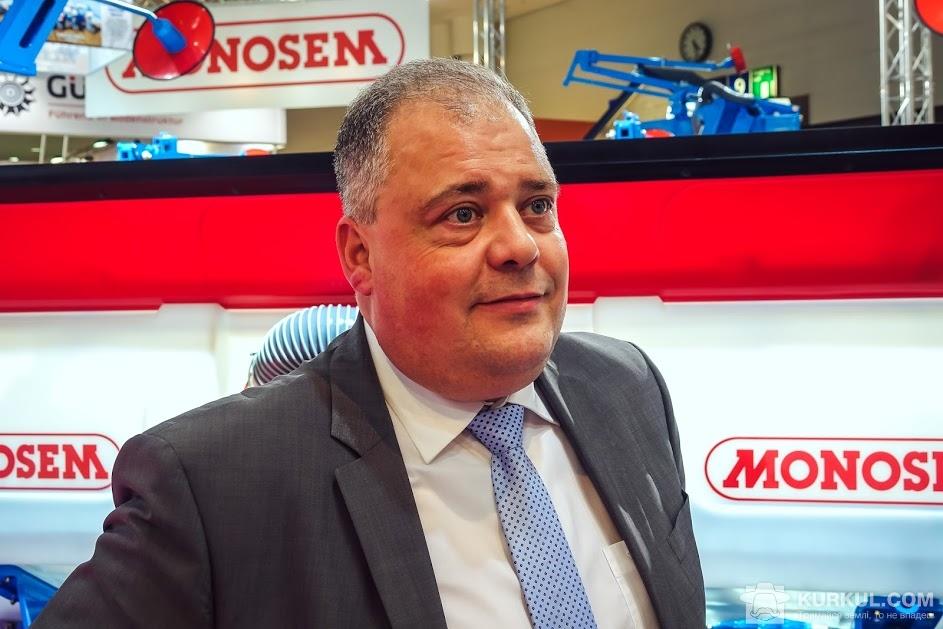 Ерік Марекейл, директор з експорту компанії Monosem