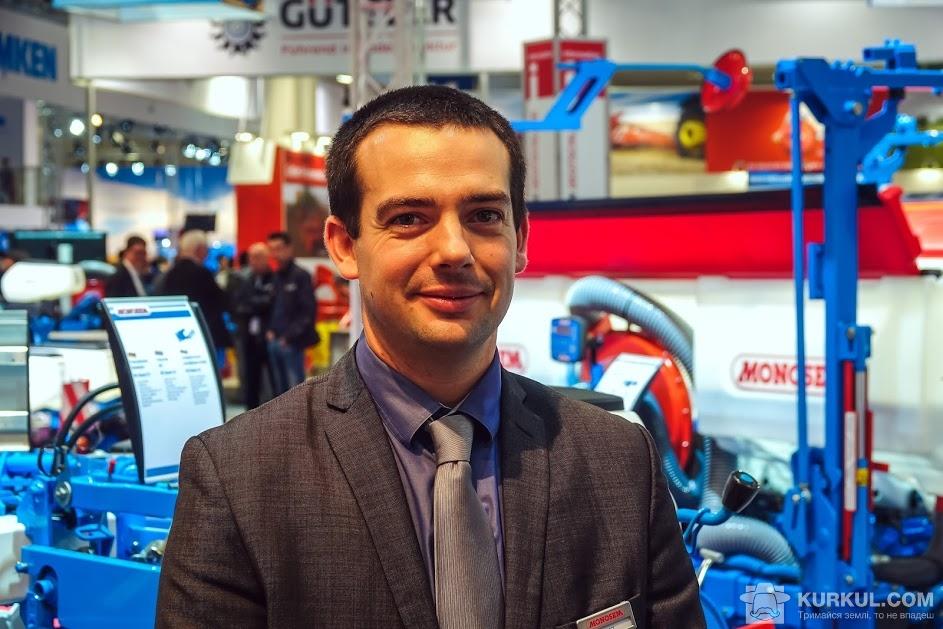 Флоріан Кроше, маркетолог компанії Monosem