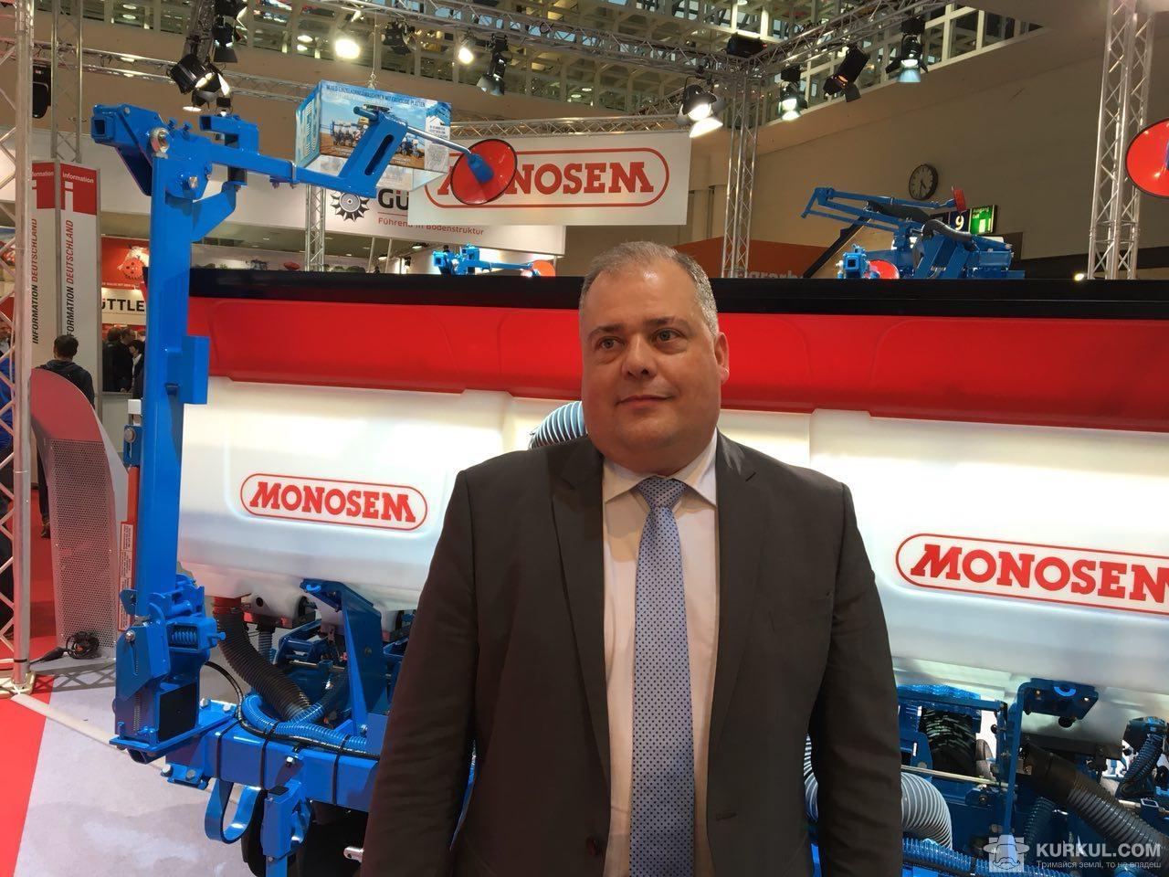Ерік Марекейл,  директор Monosem з експорту