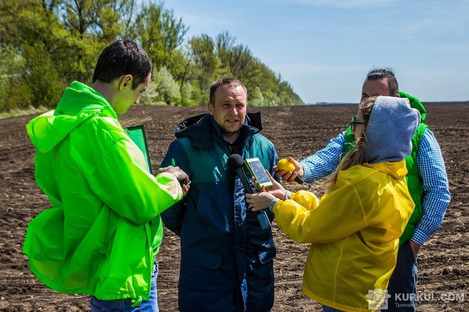 Віталій Бабенко і агроекспедитори