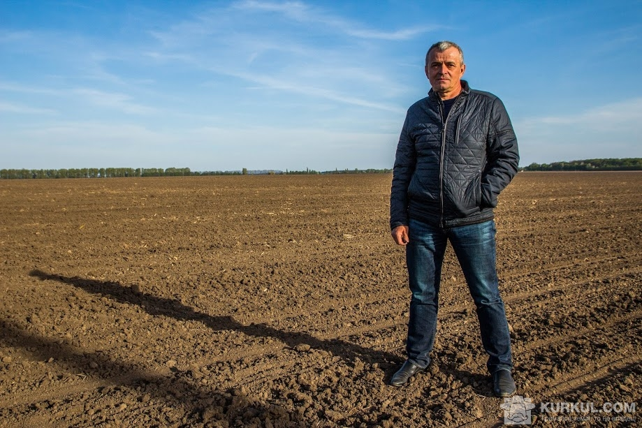 Володимир Онука у полі