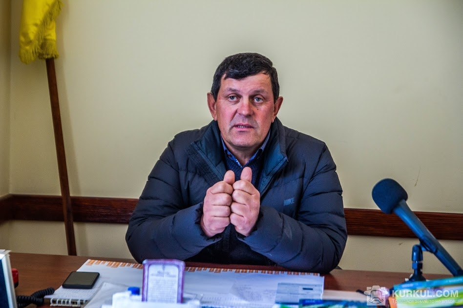 Директор господарства у кабінеті
