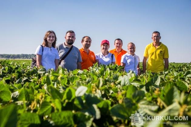 Наша команда у полі «Агропродсервісу»