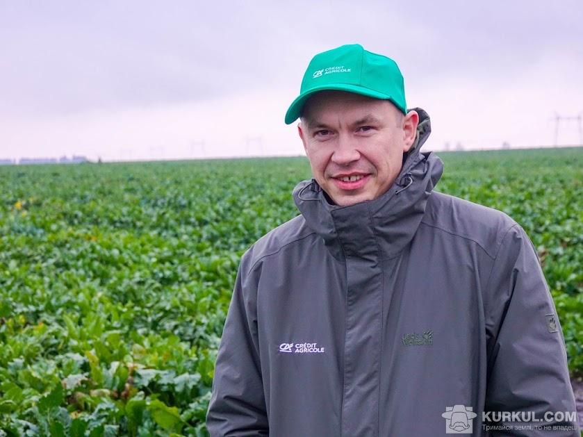 Василь Белозерських, заступник директора Департаменту підтримки Агро Бізнесу Credit Agricole Bank